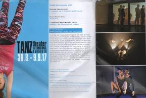 Dream F.H. beim TANZtheater International in Hannover, September 2017